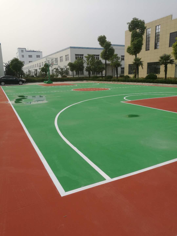 景宏丙烯酸篮球场